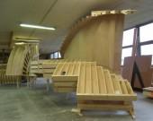 coffrage pour escalier