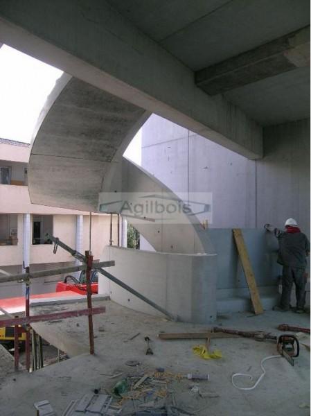 coffrage pour escalier beton coffrage bois pour beton. Black Bedroom Furniture Sets. Home Design Ideas