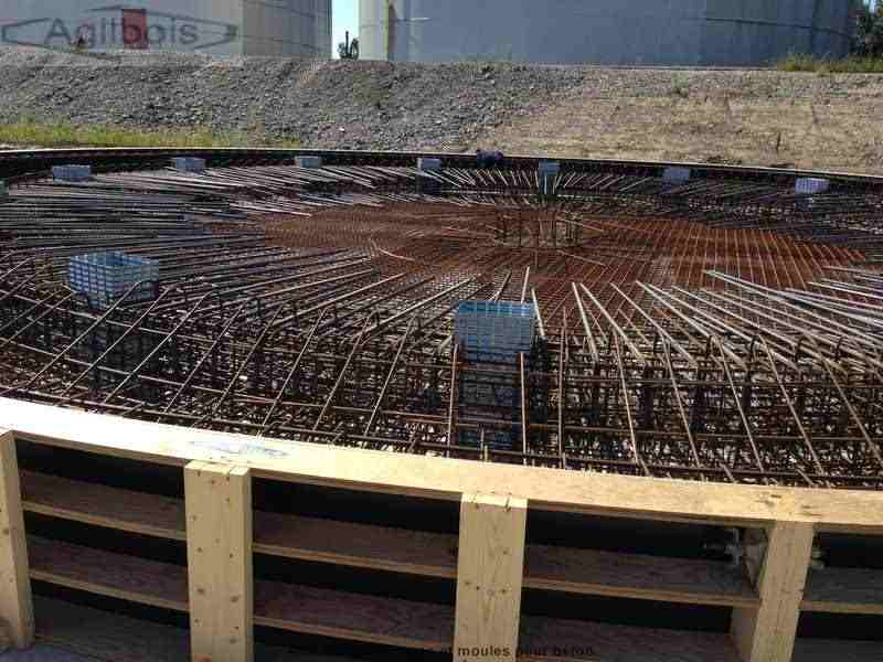 coffrage  bois  beton  coffrages spéciaux  Coffrage bois ~ Coffrage Bois Pour Beton