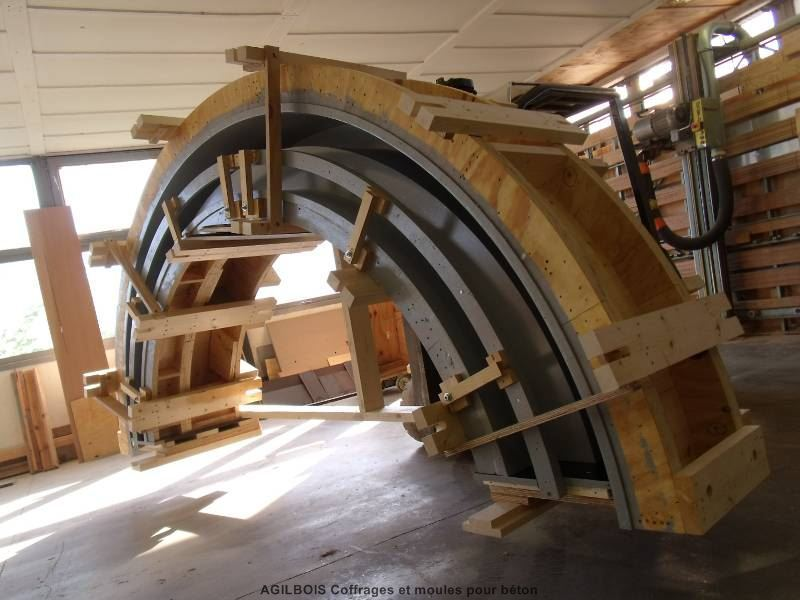 coffrage  bois  beton  coffrages spéciaux  Coffrage bois ~ Bois Pour Coffrage
