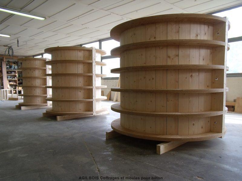 Moule coffrage beton bois 31 coffrage bois - Comment faire un coffrage en bois ...