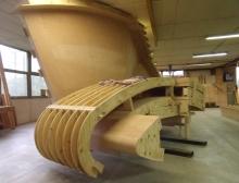Wood shuttering
